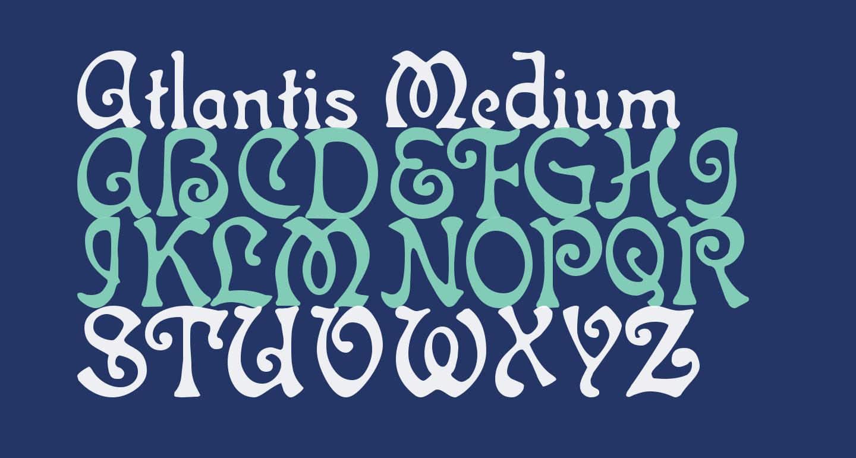 Atlantis Medium