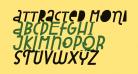 Attracted Monday Italic
