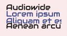 Audiowide