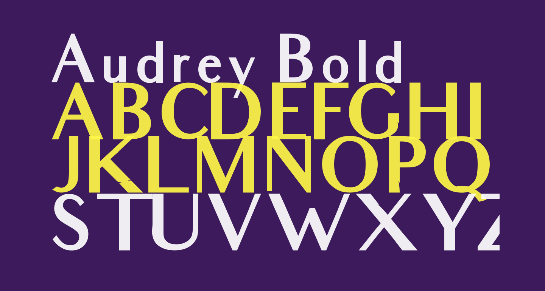 Audrey Bold