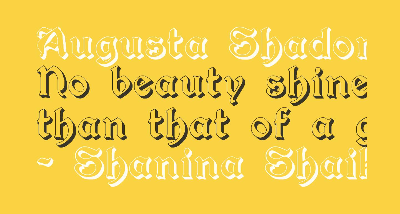 Augusta Shadow