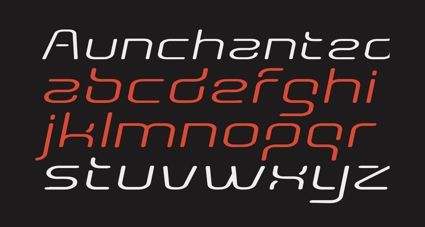 Aunchanted Expanded Oblique