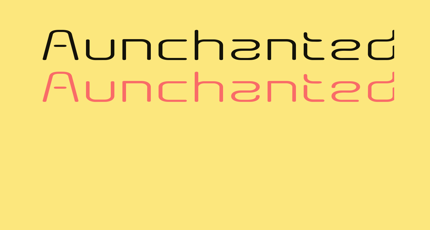 Aunchanted Expanded