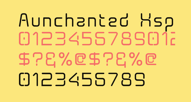 Aunchanted Xspace Bold