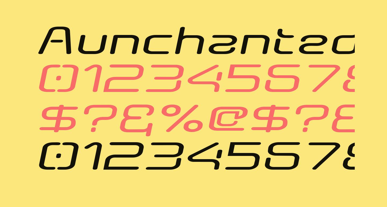 AunchantedExpandedBoldOblique