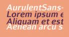 AurulentSans-BoldItalic
