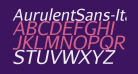 AurulentSans-Italic