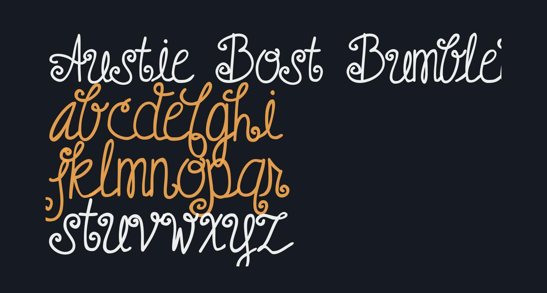 Austie Bost Bumblebee