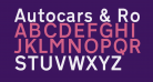 Autocars & Rolling Bikes Bold Italic