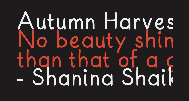 Autumn Harvest Medium