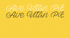 Ave Utan PERSONAL USE ONLY