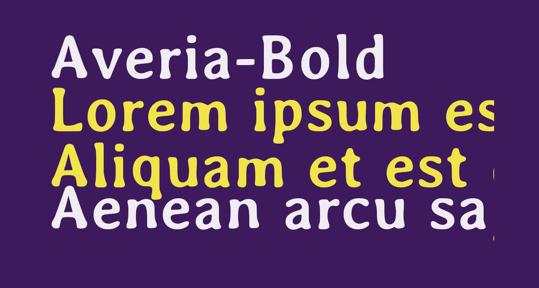Averia-Bold