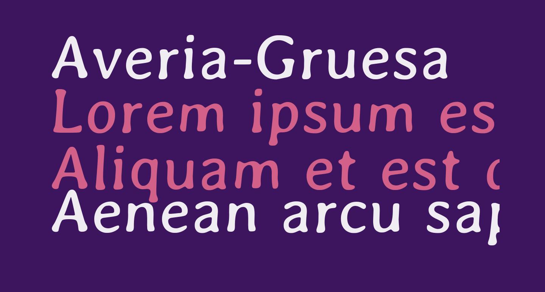 Averia-Gruesa