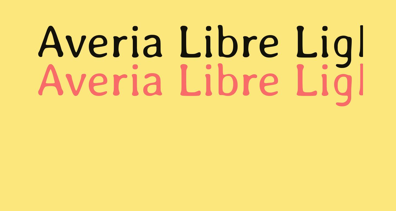 Averia Libre Light