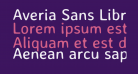 Averia Sans Libre Regular