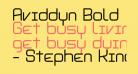 Aviddyn Bold