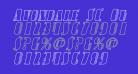 Avondale SC Outline Italic