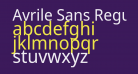 Avrile Sans Regular