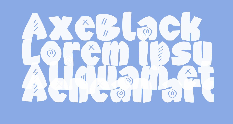 AxeBlack