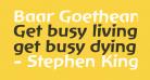Baar Goetheanis