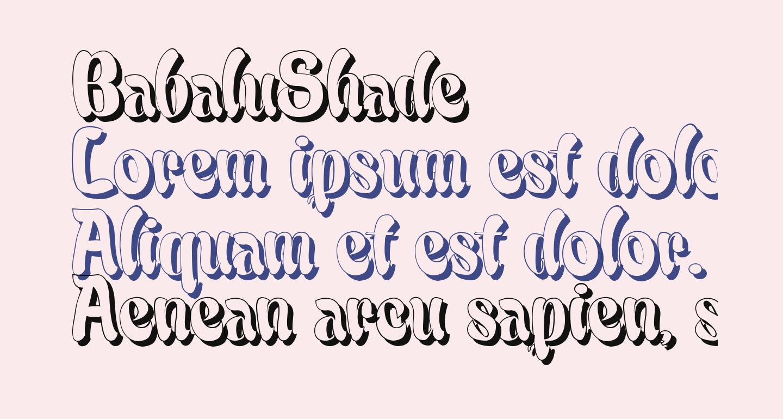 BabaluShade