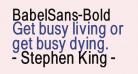 BabelSans-Bold