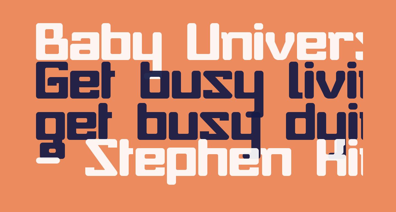 Baby Universe