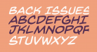 Back Issues BB Italic