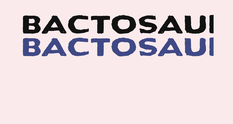 Bactosaurus