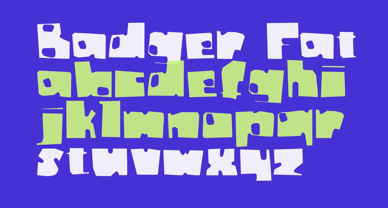 Badger Fatboy CTBT