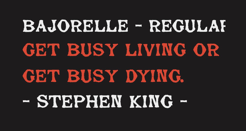 Bajorelle - Regular