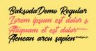 BaksodaDemo Regular