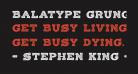 Balatype Grunge