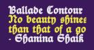 Ballade Contour