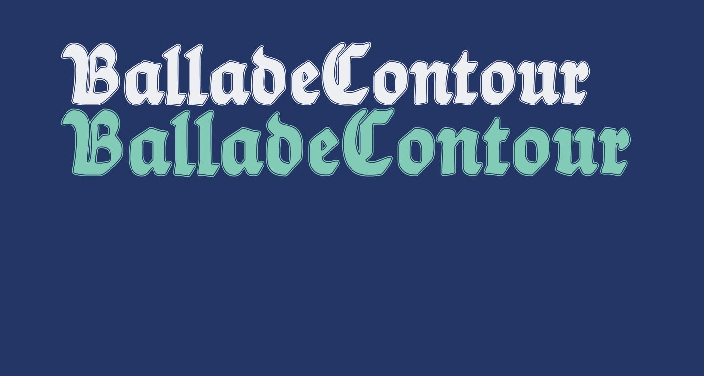 BalladeContour