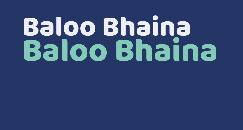 Baloo Bhaina