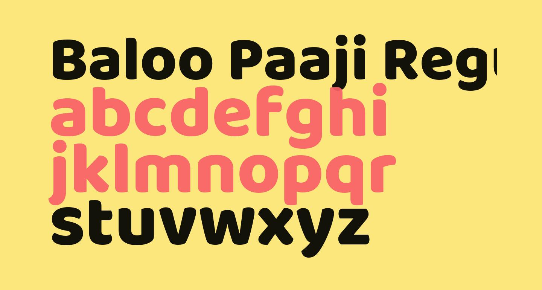 Baloo Paaji Regular