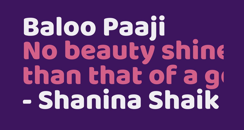 Baloo Paaji