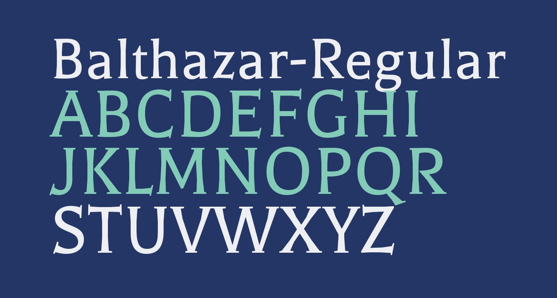 Balthazar-Regular