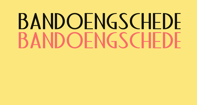 BandoengscheDEMO