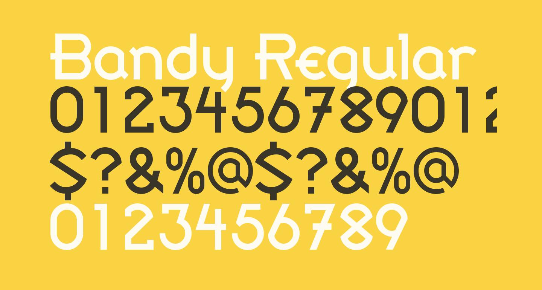 Bandy Regular