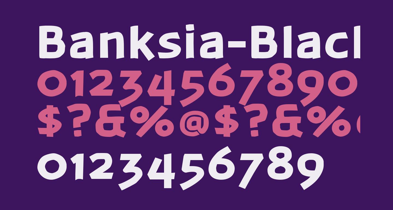 Banksia-Black