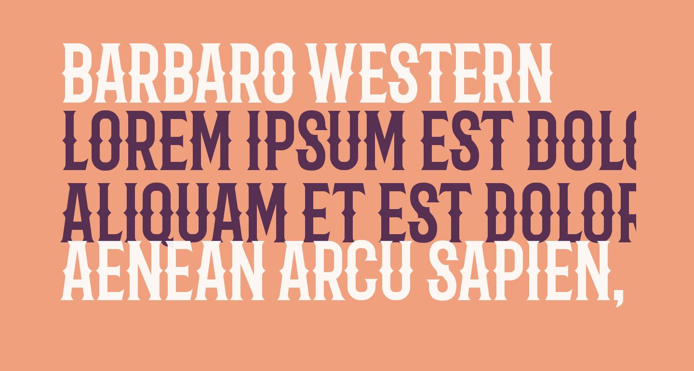 Barbaro Western