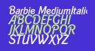 Barbie MediumItalic