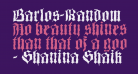 Barlos-Random