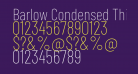 Barlow Condensed Thin