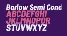 Barlow Semi Condensed ExtraBold Italic