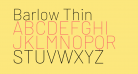 Barlow Thin
