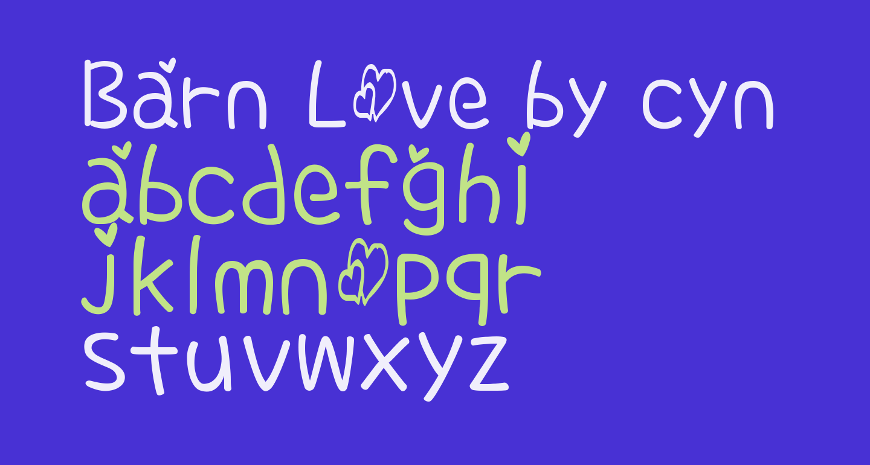 Barn Love by cyn