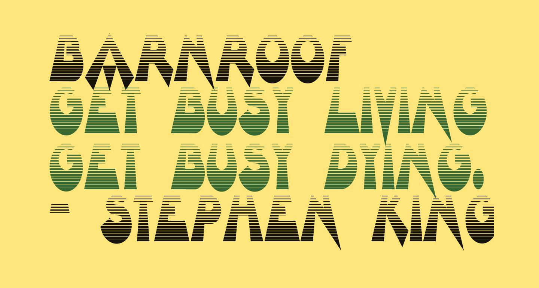 Barnroof